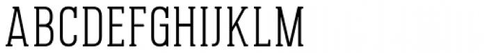 Pekora Light Serif Font UPPERCASE