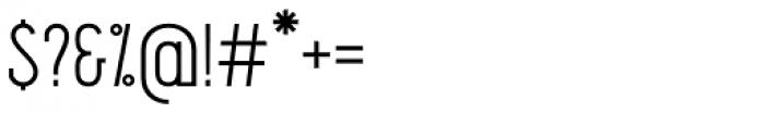 Pekora Light Slab Serif Font OTHER CHARS