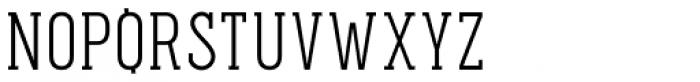 Pekora Light Slab Serif Font UPPERCASE