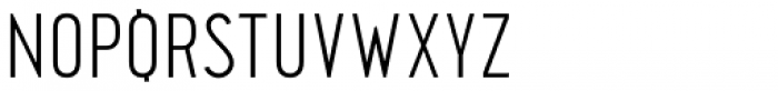 Pekora Light Font UPPERCASE
