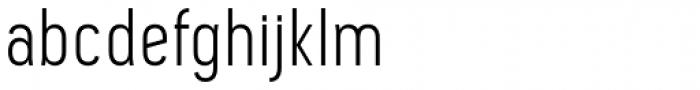 Pekora Light Font LOWERCASE