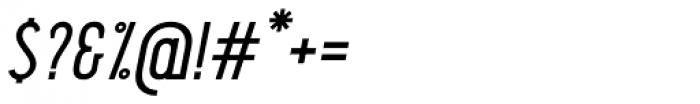 Pekora Regular Serif Italic Font OTHER CHARS