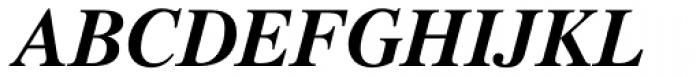 Pelham DT Bold Italic Font UPPERCASE