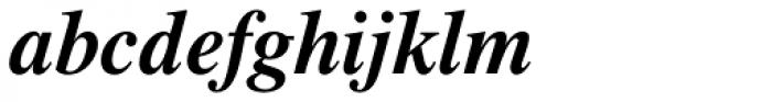 Pelham DT Bold Italic Font LOWERCASE