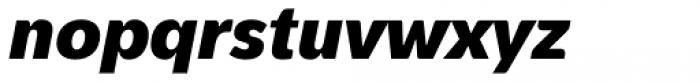 Pelita Grande Black Italic Font LOWERCASE