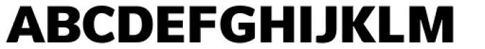 Pelita Grande Black Font UPPERCASE