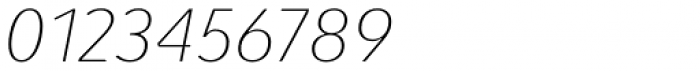 Pelita Grande Thin Italic Font OTHER CHARS