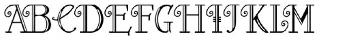 Peloponeso 2 Font LOWERCASE