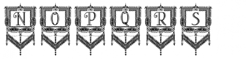 Peloponeso Frame Font UPPERCASE
