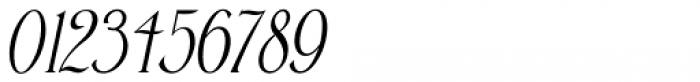 Pen Elegant Oblique JNL Font OTHER CHARS