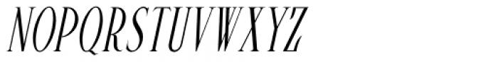Pen Elegant Oblique JNL Font UPPERCASE