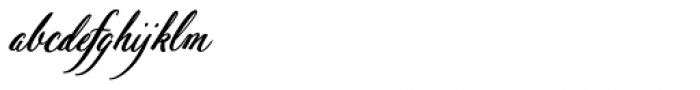 Pen Swan Bold Italic Font LOWERCASE