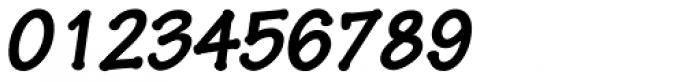 Pen Tip DT Bold Oblique Font OTHER CHARS