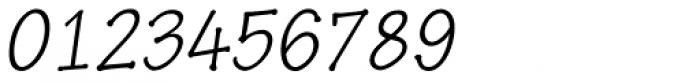 Pen Tip DT Infant Thin Oblique Font OTHER CHARS