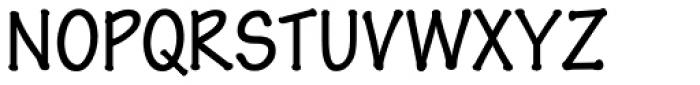 Pen Tip DT Regular Font UPPERCASE