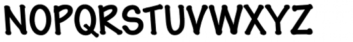 Pen Tip DTLefty Bold Font UPPERCASE