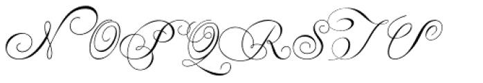 Penabico Font UPPERCASE