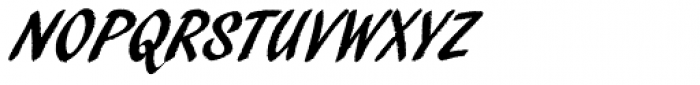 Pendry Script Font UPPERCASE