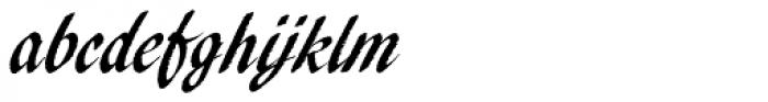 Pendry Script Font LOWERCASE