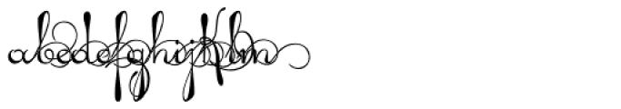 Pendulum Swings Font UPPERCASE