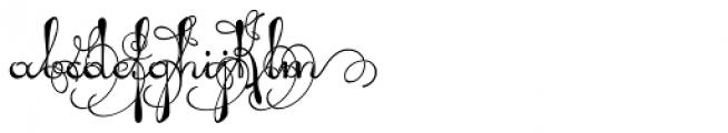 Pendulum Swings Font LOWERCASE