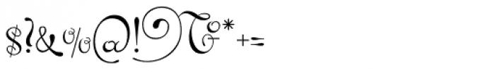 Pendulum Font OTHER CHARS