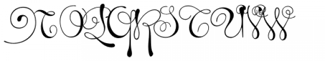Pendulum Font UPPERCASE