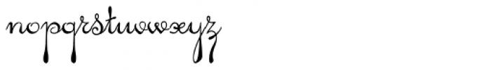 Pendulum Font LOWERCASE