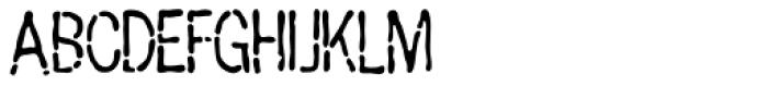 Penicillin AOE Font UPPERCASE