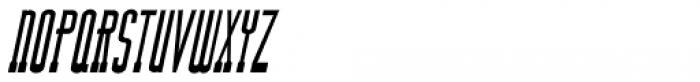 Penny Wise Oblique JNL Font UPPERCASE