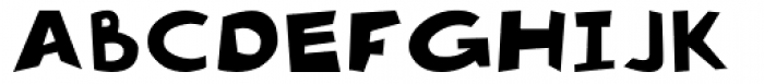 Pennywhistle Font UPPERCASE