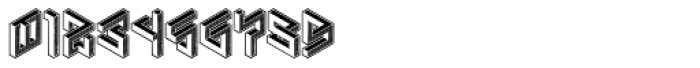 Penrose Geometric Reverse Alternate Font OTHER CHARS