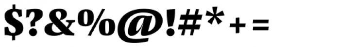 Pensum Pro Black Font OTHER CHARS