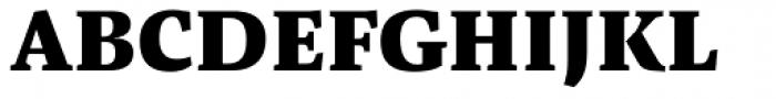 Pensum Pro Black Font UPPERCASE