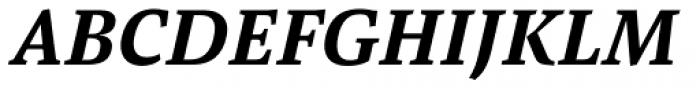 Pensum Pro Bold Italic Font UPPERCASE