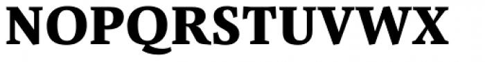 Pensum Pro ExtraBold Font UPPERCASE