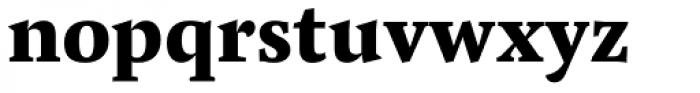 Pensum Pro ExtraBold Font LOWERCASE