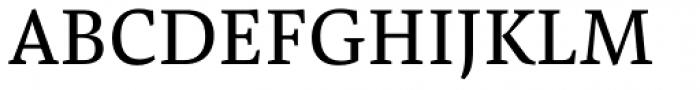 Pensum Pro Regular Font UPPERCASE