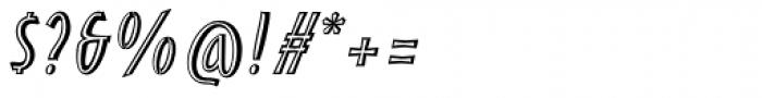 Pentathlon Pro Inlier Italic Font OTHER CHARS