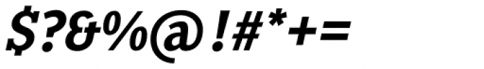 Pentay Bold Italic Font OTHER CHARS