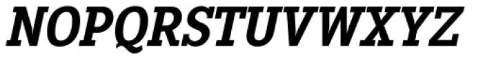 Pentay Bold Italic Font UPPERCASE
