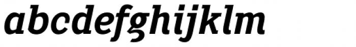 Pentay Bold Italic Font LOWERCASE