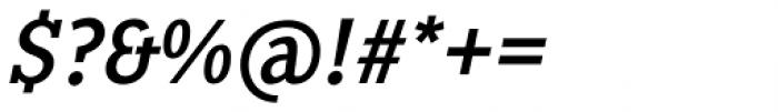 Pentay Regular Italic Font OTHER CHARS