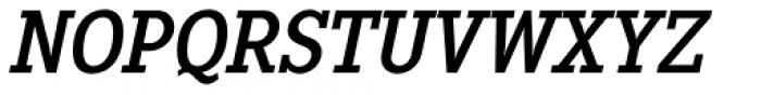 Pentay Regular Italic Font UPPERCASE