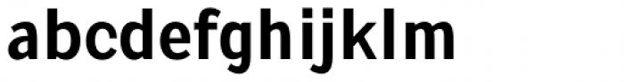 Pentay Sans Bold Font LOWERCASE