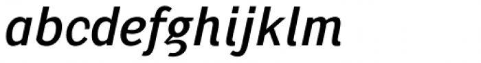 Pentay Sans Regular Italic Font LOWERCASE