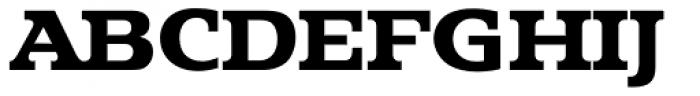 Penthouse Serial ExtraBold Font UPPERCASE