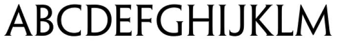 Penumbra Half Serif Std Reg Font UPPERCASE