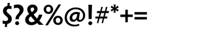 Penumbra Sans Std SemiBold Font OTHER CHARS