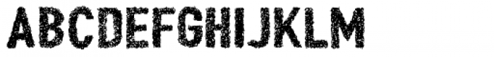 Peperoncino Sand Doodle Rough Font UPPERCASE